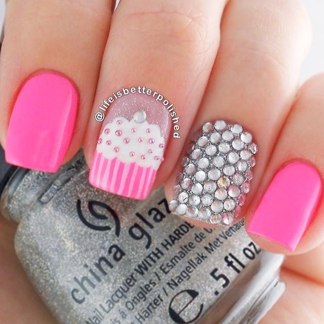 Cupcake Nail Art Designs picture 3