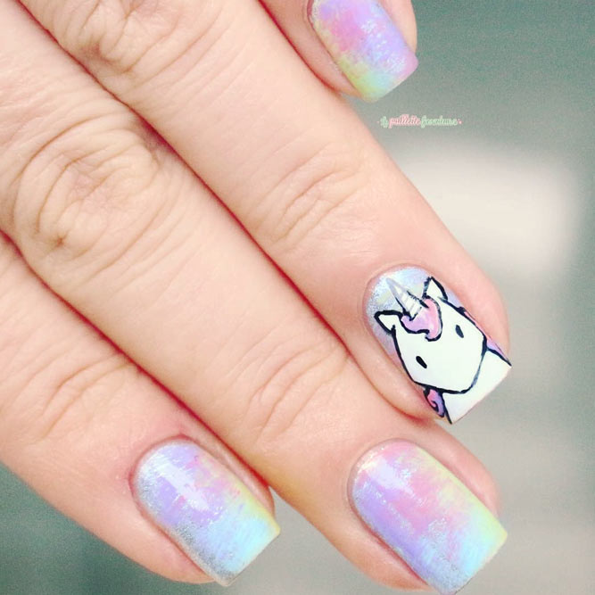 Magical Unicorn Manicure for Chic Girls picture 2