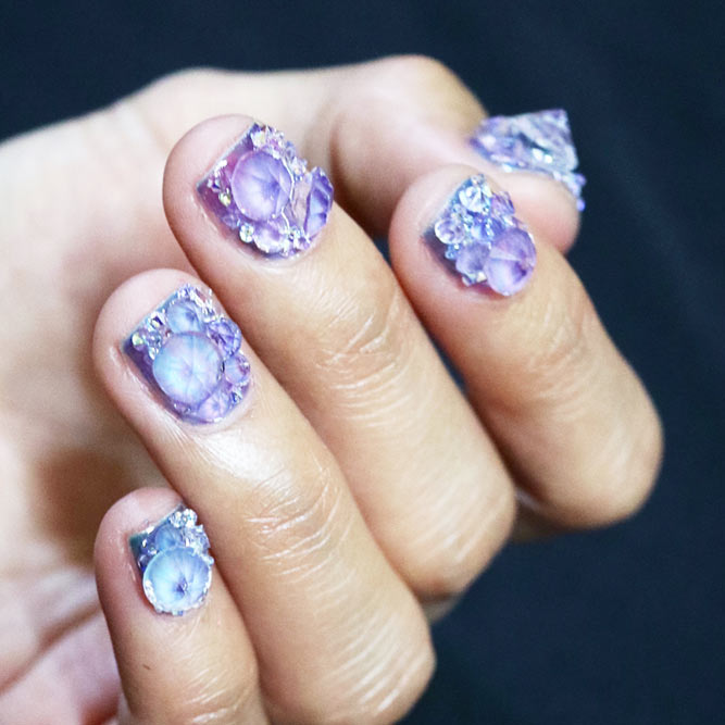 Blinding Crystal Nails picture 1