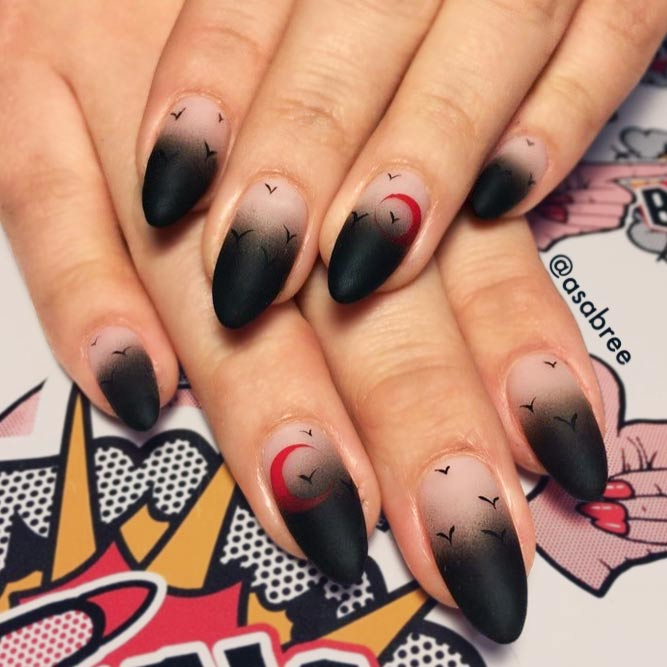 Matte Black Ombre for You Inspiration picture 3