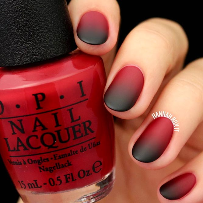 Matte Black Ombre for You Inspiration picture 2