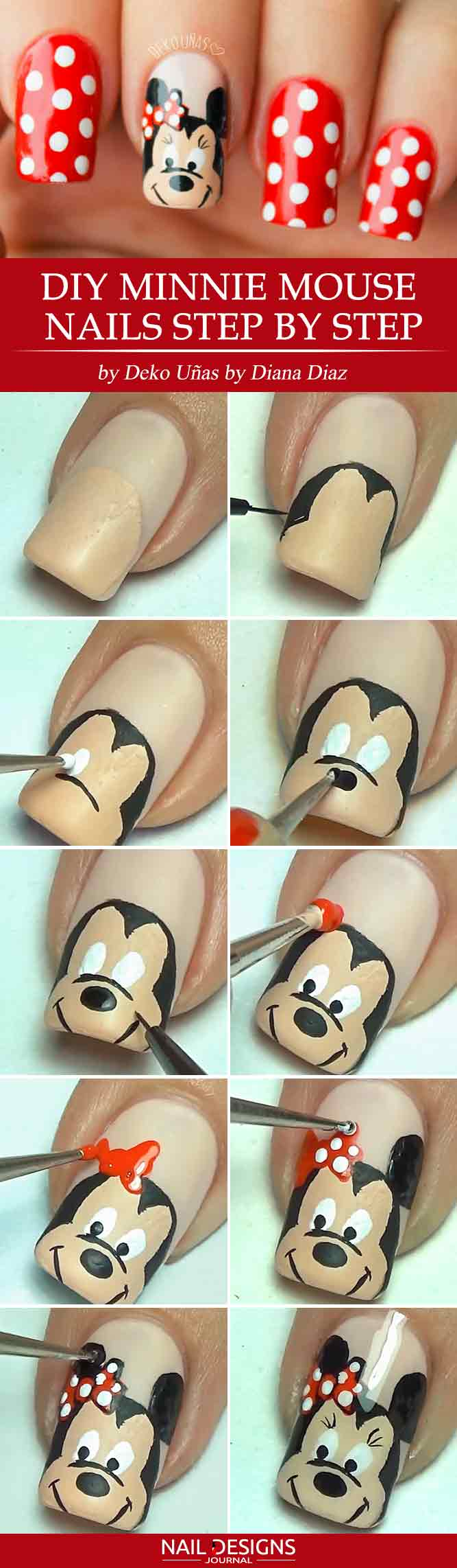 Hand Painted Mickey Mouse Art