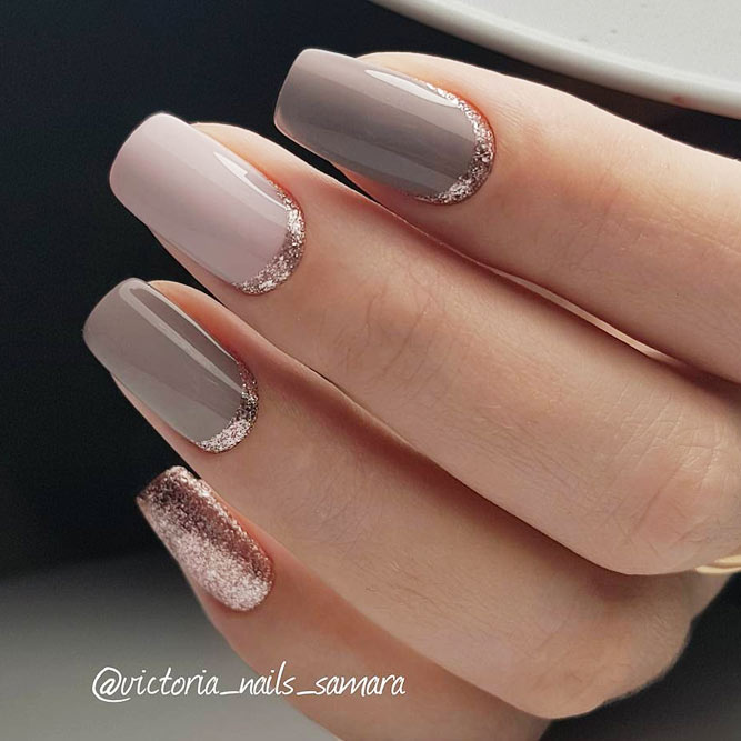 Elegant Nail Design For Real Ladies