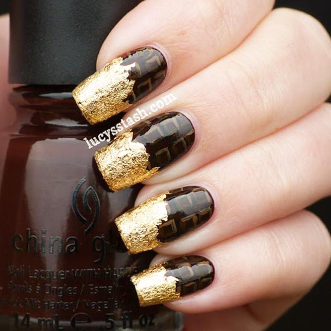 Astonishing Chocolate Nail Designs picture 2