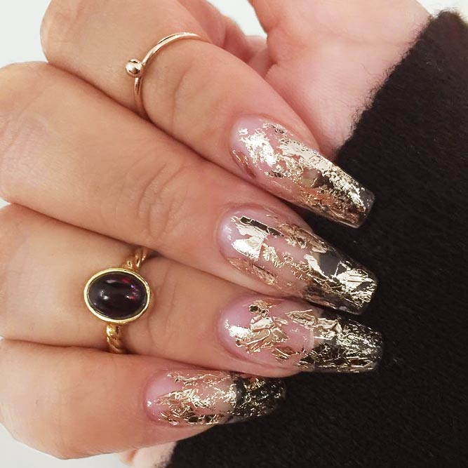 Wholly Foiled Nails For Your Stunning Look picture 1