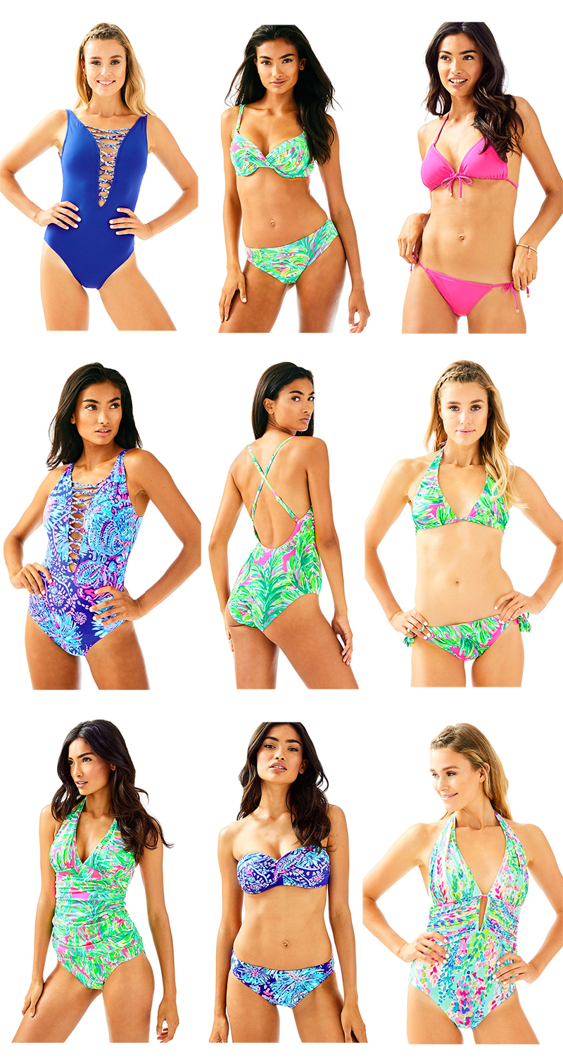 Currently Coveting Top Picks from the Lilly Pulitzer Swim Collection
