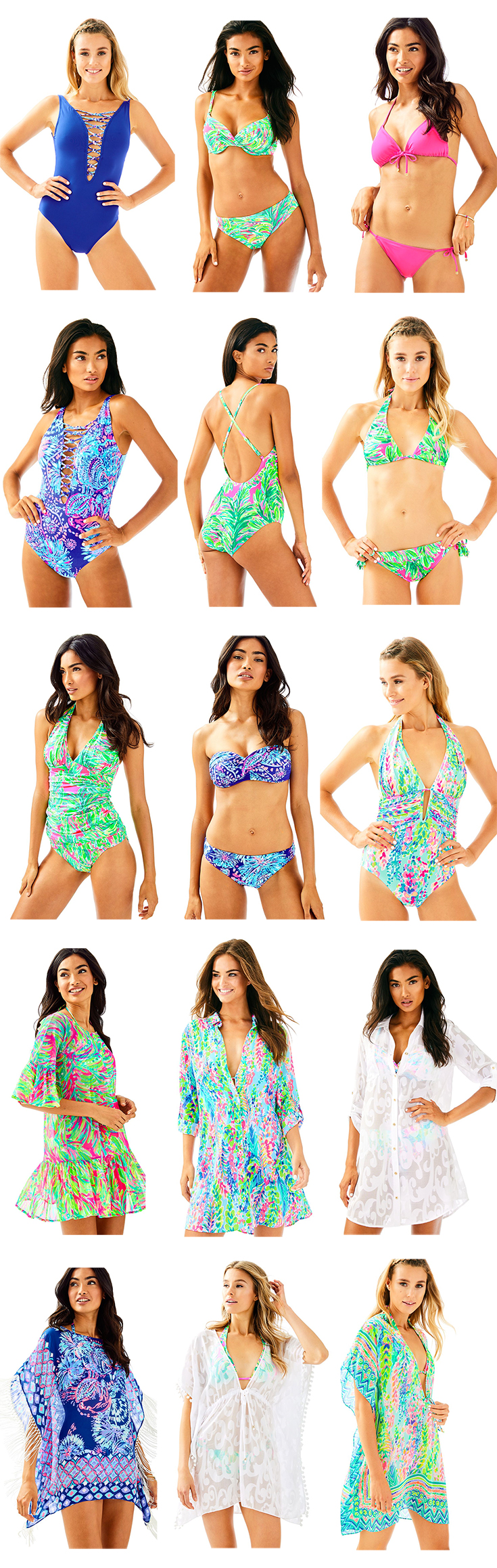 Top picks from the Lilly Pulitzer Swim Collection by fashion blogger Stephanie Ziajka from Diary of a Debutante