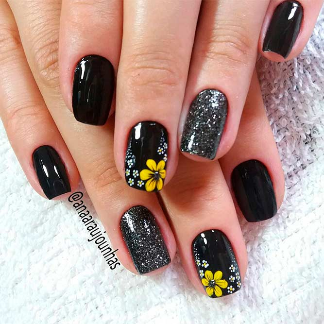 Charming Plymeria Flower Nails