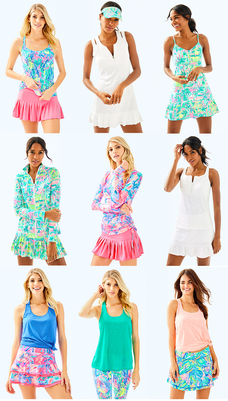 Best of the Lilly Pulitzer Tennis Collection by southern fashion blogger Stephanie Ziajka from Diary of a Debutante