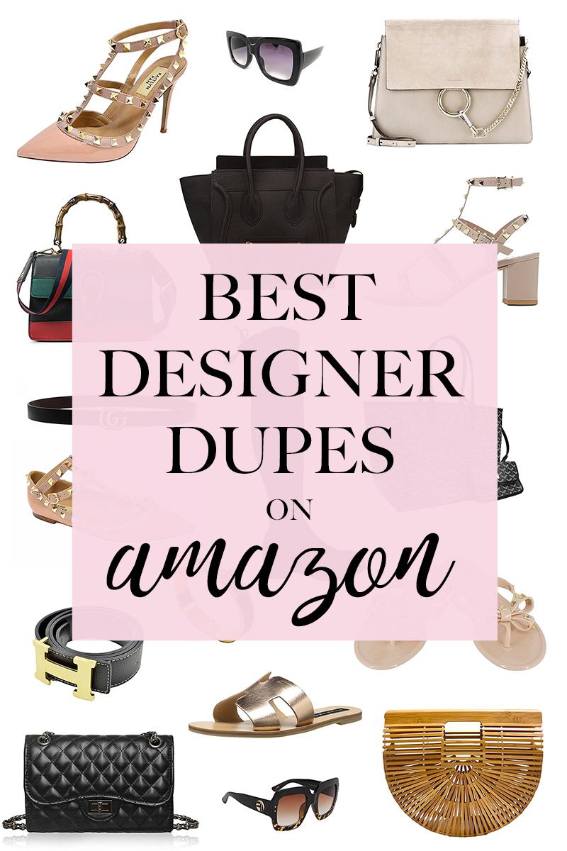 Amazon designer dupes, best designer bag dupes, best designer dupes on amazon, chanel dupes, designer handbag dupes, designer look alike bags, designer shoe dupes, gucci dupes, handbag dupes, purse dupes