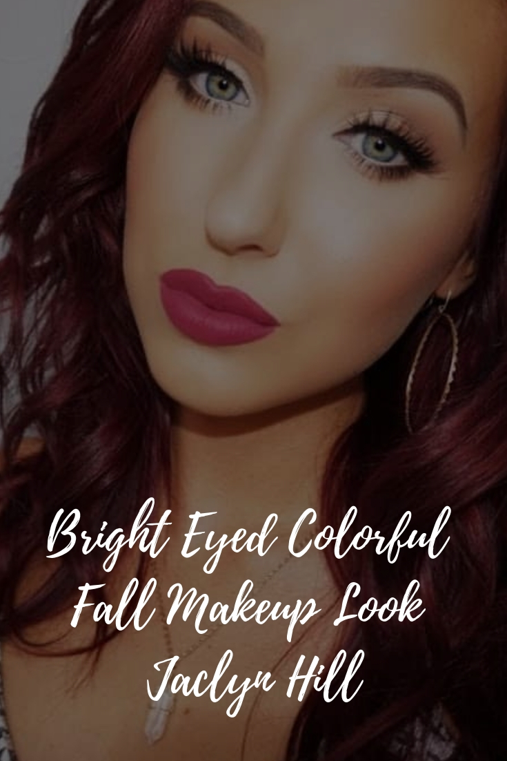 Bright Eyed Beauty Blog Review And Swatches Lime Crime: Bright Eyed Colorful Fall Makeup Look