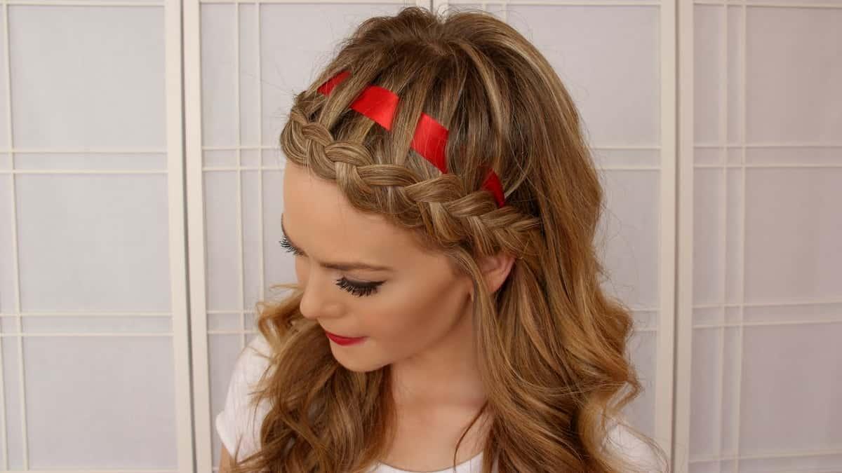 Ribbon Hairstyles