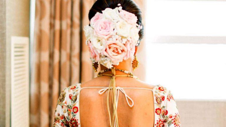 Flower Bouquet Hairstyle